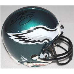 Donovan McNabb Signed Eagles Mini-Helmet (JSA Hologram)