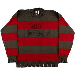 "Robert Englund Signed ""A Nightmare on Elm Street"" Freddy Krueger Sweater Inscribed ""'Freddy'""(Englun"