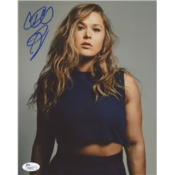 Ronda Rousey Signed UFC 8x10 Photo (JSA COA)