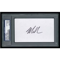Marco Rubio Signed Index Card (PSA Encapsulated)