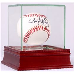 Roger Clemens Signed OAL Baseball in High Quality Display Case (PSA COA)