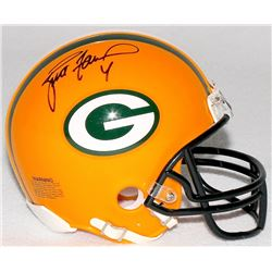 Brett Favre Signed Packers Mini-Helmet (Favre COA)