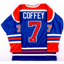 Paul Coffey Signed Oilers Jersey (JSA COA)