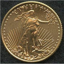 2015 1/10 oz Gold American Eagle $5 Coin