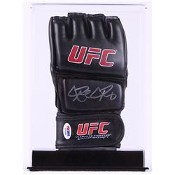Ronda Rousey Signed UFC Glove with Display Case (PSA COA)