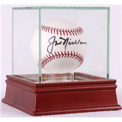Jack Nicklaus Signed OML Baseball with High Quality Display Case (PSA LOA)