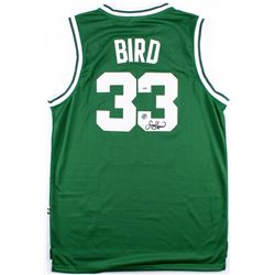 Larry Bird Signed Celtics Jersey (PSA COA & Bird Hologram)