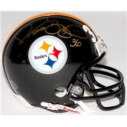 Jerome Bettis Signed Steelers Mini-Helmet (TSE COA)