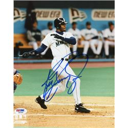 Ken Griffey Jr. Signed Mariners 8x10 Photo (PSA COA)