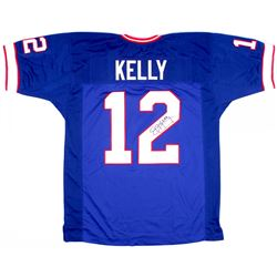 Jim Kelly Signed Bills Jersey (JSA Holgoram)