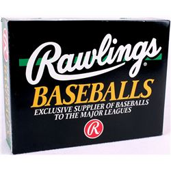 Unopened Box of (12) Individually Sealed Rawlings Official National League Baseballs (Leonard S. Col