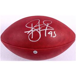 Troy Polamalu Signed Official NFL Breast Cancer Awareness Game Ball (JSA COA & TSE COA)