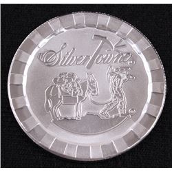 SilverTowne Prospector 1 Troy Oz. Fine Silver Stackable Round