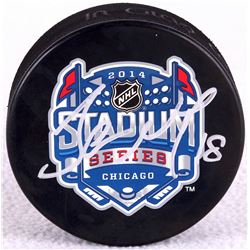 James Neal Signed Official NHL Hockey Puck (JSA Hologram)