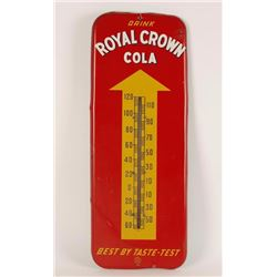 Royal Crown Cola Advertiser Thermometer