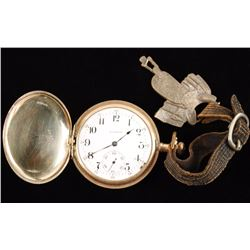 Pocket Watch with Saddle Fob