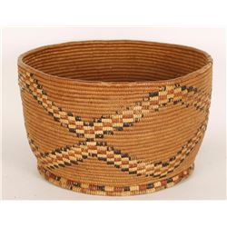 Salish Indian Basket