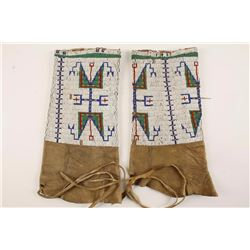 Sioux beaded leggings