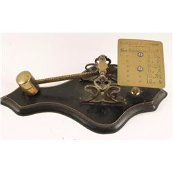English Antique Postal Scale