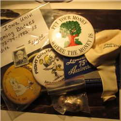 Another group of Collectables: Books of Matches  Louden's 75th Anniversary...Fairfield, Iowa ;  (5)