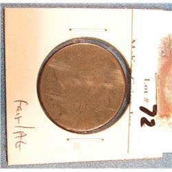 1810 U.S. Large Cent. Fair/AG.