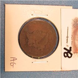 1818 U.S. Large Cent. AG.