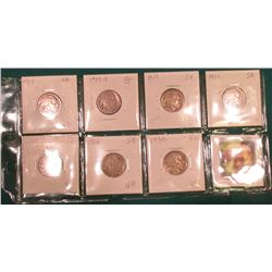 (7) Different Buffalo Nickels 1917-1930 grading AG to VF. Originally priced to sell at $46.00.