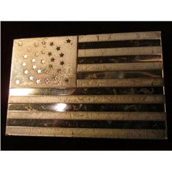 """11th U.S. Flag Became Official July 4, 1847, when a 29th star was added to honor the state of Iowa"