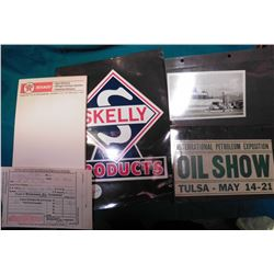 """International Petroleum Exposition Oil Show Tulsa – May 14-21""; 1922 receipt from Standard Oil Co."