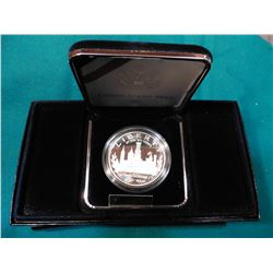 1846-1996 P Smithsonian Institution 150th Anniversary Commemorative Proof Silver Dollar.  In origina