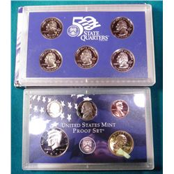 2000 S U.S. Proof Set. In original U.S. Mint box as issued.