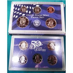 2002 S U.S. Proof Set. In original U.S. Mint box as issued.