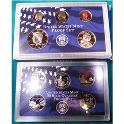2003 S U.S. Proof Set. In original U.S. Mint box as issued.