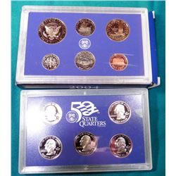 2004 S U.S. Proof Set. In original U.S. Mint box as issued.