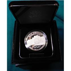 2007 P Little Rock Central High School Desegregation Proof Silver Dollar. In original U.S. Mint box