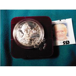 1999 P Dolly Madison Silver Proof Commemorative Silver Dollar in original box.
