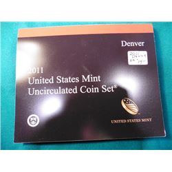 2011 Denver U.S. Mint Sets in original holder, no box.