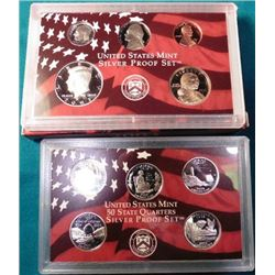 2003 S U.S. Silver ten-piece Proof Set. Original as issued.