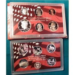 2004 S U.S. Silver eleven-piece Proof Set. Original as issued.