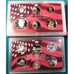 2005 S U.S. Silver eleven-piece Proof Set. Original as issued.