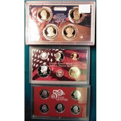 2008 S U.S. Silver fourteen-piece Proof Set. Original as issued.