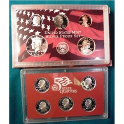 2006 S U.S. Silver ten-piece Proof Set. Original as issued.