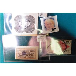"Rare ""$100"" Vignette Proof. Most likely from American Bank Note Co.; ""The United States of America W"