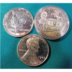 """20 Bank note Andrew Jackson 7th President 1829-1837"", Eagle, flags, and Globe reverse. 50Mm, Portra"