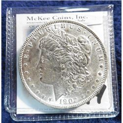 1902 P U.S. Morgan Silver Dollar. Uncirculated.