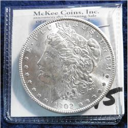 1902 O U.S. Morgan Silver Dollar. Superb Brilliant Uncirculated.
