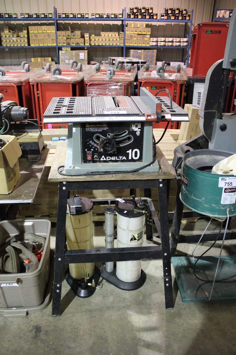 Delta 10 table saw on stand able auctions for 10 delta table saw price