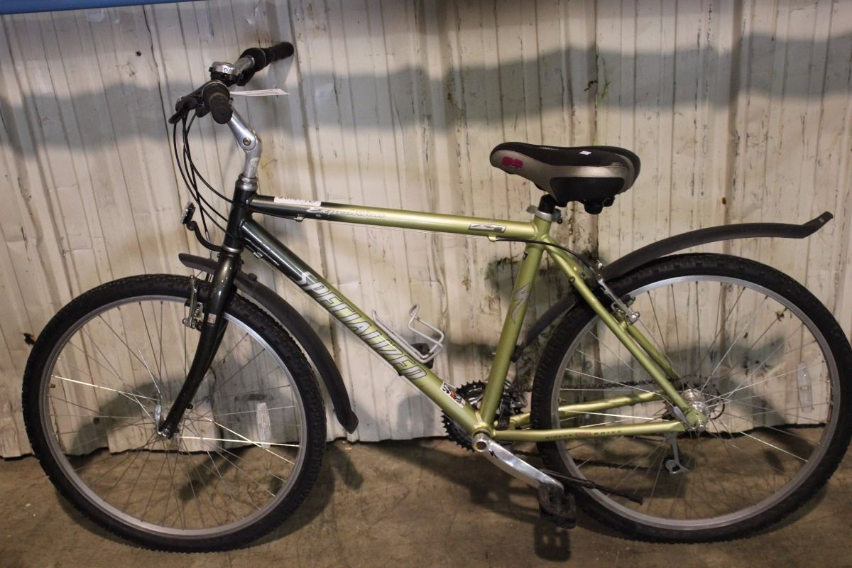 GREEN SPECIALIZED EXPEDITION 21 SPEED MOUNTAIN BIKE - Able ...