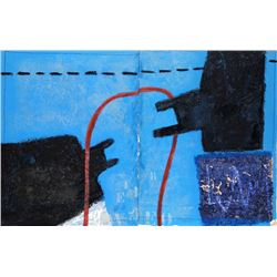 James Coignard, Face Minerale (Diptych), Carborundum Etching