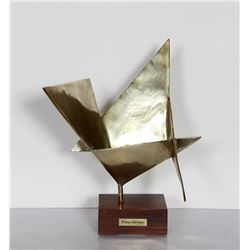 Elayne Fabrikant, Polished Bronze Sculpture